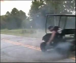 Sick Turbo Golfcart Funny Video