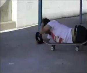 Skateboard Painful Fail Funny Video