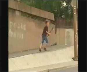 Skateboarder Rage Funny Video