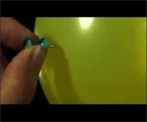 Slow Motion Water Balloon Pop