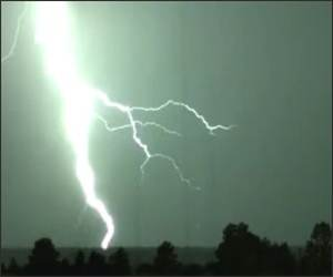 Slow Motion Lightning Video
