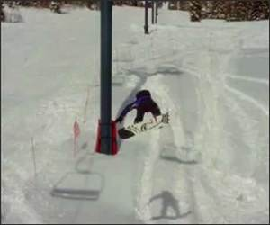 Snowboard Life Faceplant Video