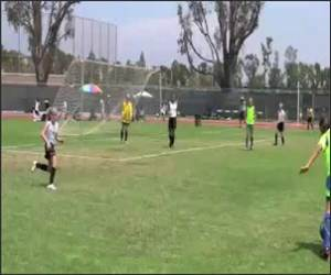 Soccer ball face Funny Video