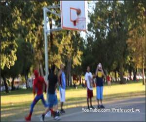 Spiderman Basketball Funny Video