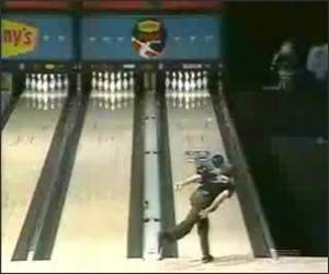 Spinning Ball Bowling Spare