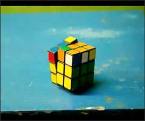 Stop Motion Rubiks Cube Video