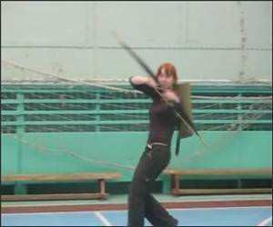 Super Fast Archery Girl Video