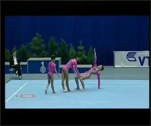 Russian Gymnasts Video