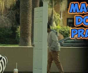 the magic door prank Funny Video
