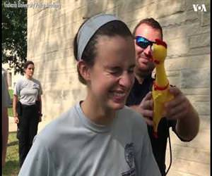 the police chicken test Funny Video