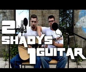 the real slim shady 1 guitar Funny Video