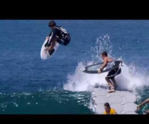 the surfing dock Funny Video