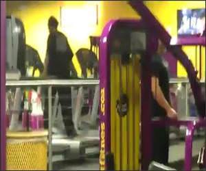 Treadmill Dancer Funny Video