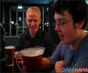 Ultra Fast beer Chug Funny Video