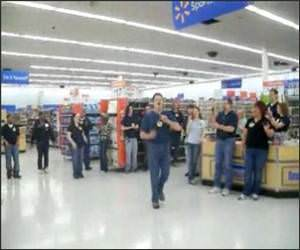 Walmart fight Song Funny Video