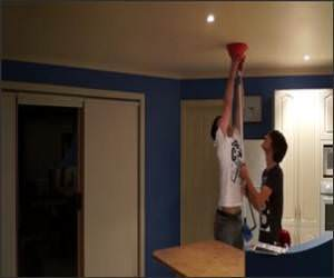 DailyGags - The best funny pictures and videos Water-bowl-prank