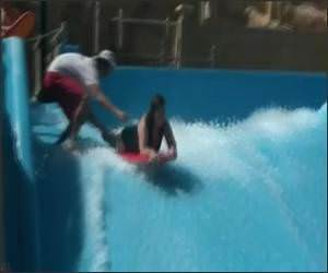Water Park Whale Fail