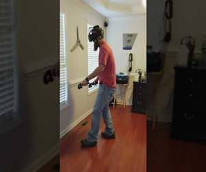 when VR is too immersive Funny Video