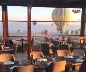 hot air balloon festival in turkey