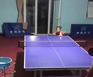 this girl is amazing at table tennis