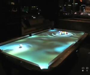 awesome digital pool table