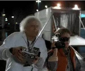 back to the future 4 is weird