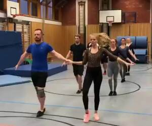 some incredible dancing