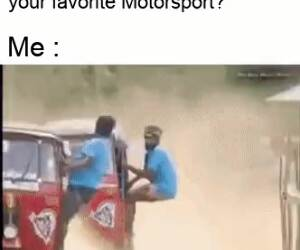 what is your favorite motor sport