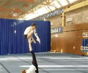strong gymnasts