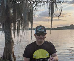 10 hours of fishing