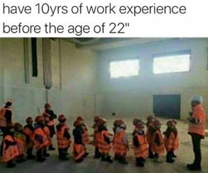 10 years work experience funny picture