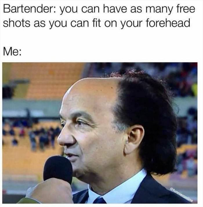 bartender offer