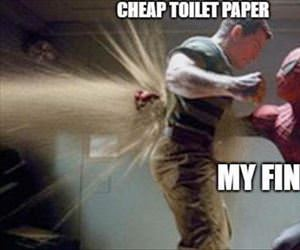 cheap toilet paper