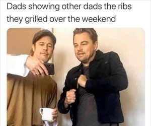 dad showing dads