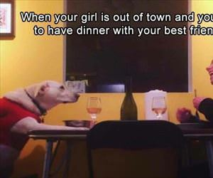 dinner with your best friend
