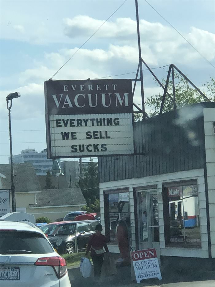 everything we sell