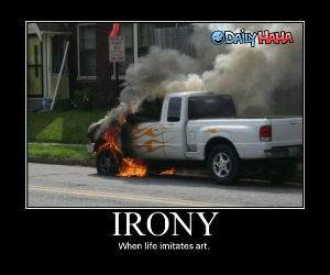 Flames funny picture
