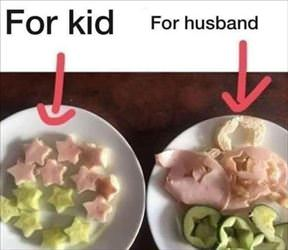 for kids and husband
