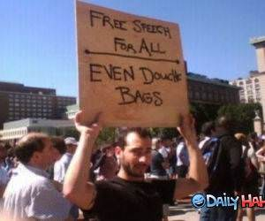 Free Speech For All funny picture