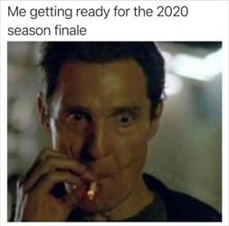 getting ready for the finale