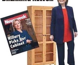 hillary picks her cabinet funny picture