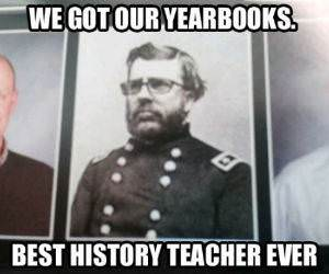 History Teacher Photo funny picture