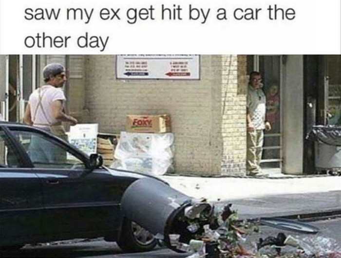 hit by a car