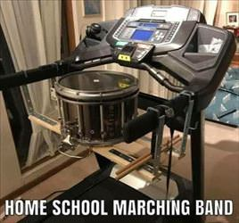 home school marching band