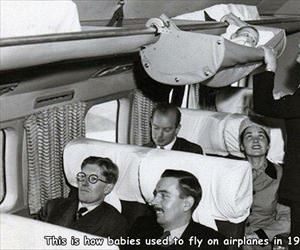 how babies used to fly