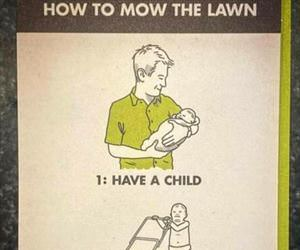 how to mow the lawn