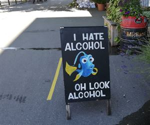 i hate alcohol
