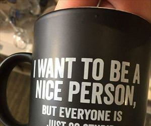 i want to be a nice person ... 2