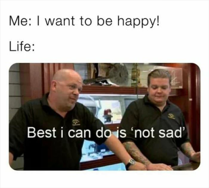 i want to be happy