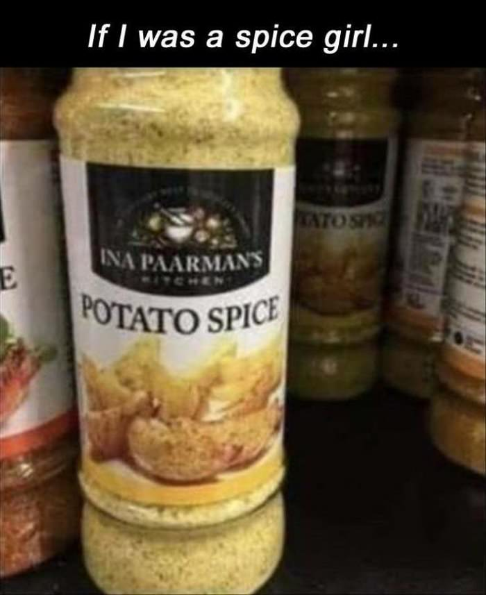 if i was a spice girl